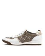 ROM 94 WEISS ROSE GOLD MIX LEATHER