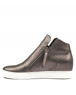 GISELE PEWTER LEATHER