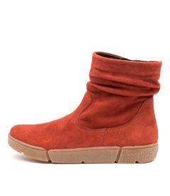 ROM 37 CHILLI RED SUEDE
