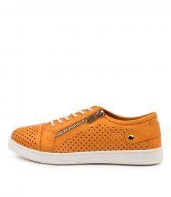 Moon Orange Leather