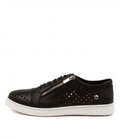 Mailena Black Leather