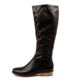 Strath New Black Leather