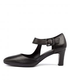 Trinities Black Leather