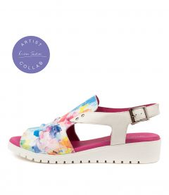 Madis Dj Sunset White Leather
