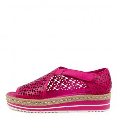 Alkiet Dj Fuchsia Leather