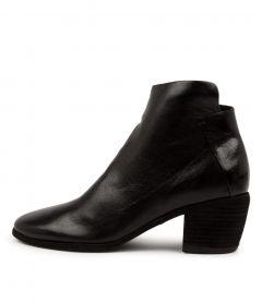 Hazel Dj Black Leather