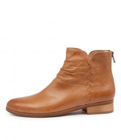 Indie Dk Tan Leather