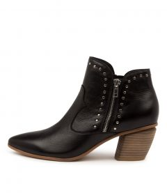 Janson Dj Black Natural Heel Leather