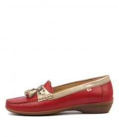 ADUNA 78 RED GOLD LEATHER