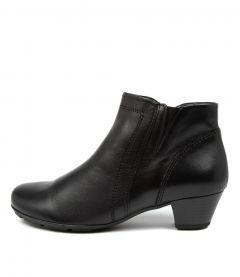 Ophelia Schwarz Leather