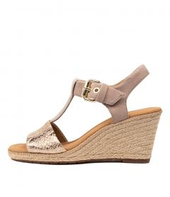 PIA SNAKE SUEDE MULTI