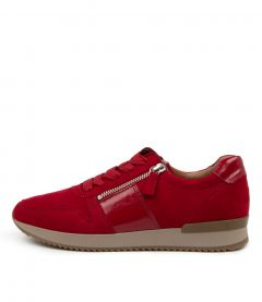 Madison Red Suede