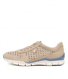 D SUKIE A LT TAUPE LEATHER