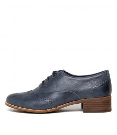 CALEIGHS NAVY LEATHER