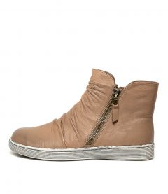 DAMIEN TAUPE LEATHER