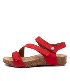 TONGA 25 RED LEATHER