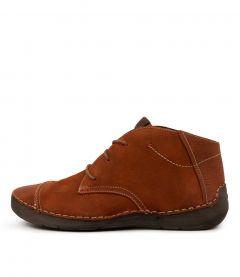 Fergey 18 Orange Leather