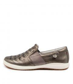 Caren 26 Platinum Leather