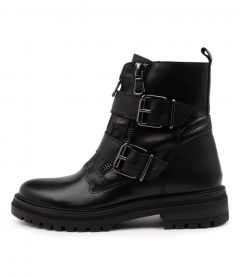 Mill Black Leather