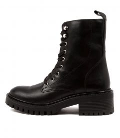 Kyle Black Leather