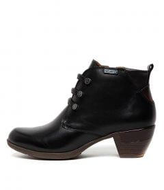 ROTTERDAM 46 BLACK LEATHER