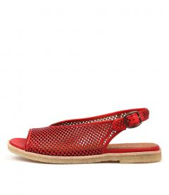 JETT RED LEATHER