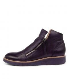 Ohmy Aubergine Leather