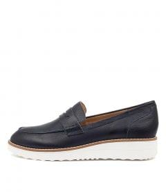 Oley To Navy White Sole Leather