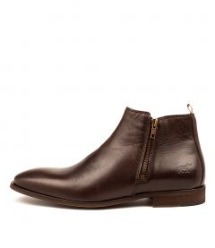 Belmont Dark Brown Leather
