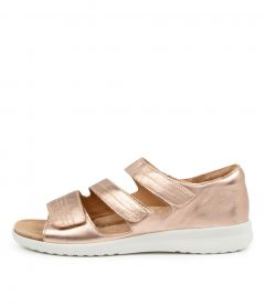 Bardot Rose Gold-wht Sole