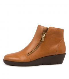 Bertha W Tan Leather