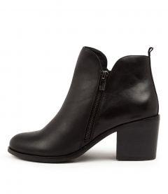 Livia W Black Leather