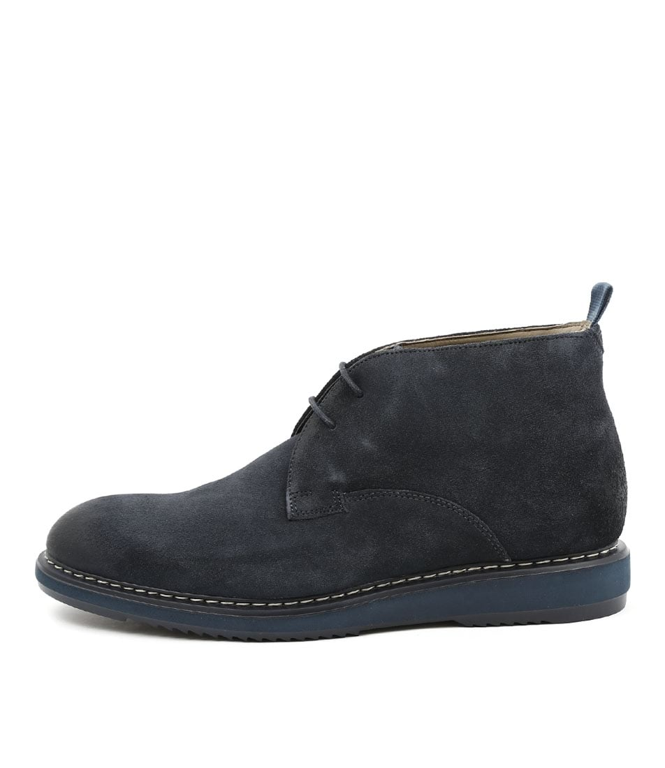sports shoes best service factory price kenley mid navy suede