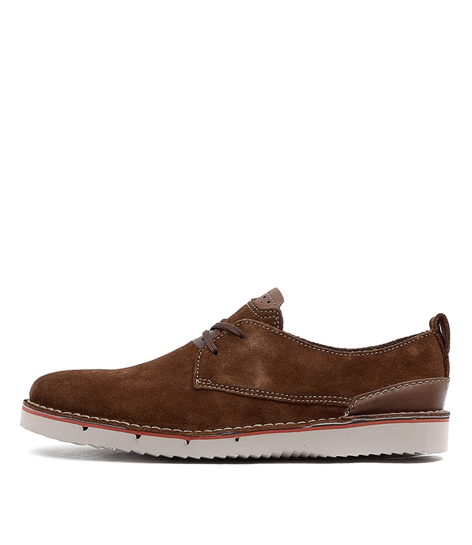 Capler Clarks Men's Men's Plain Clarks OxfordBrown Plain Capler 54LjqRcA3
