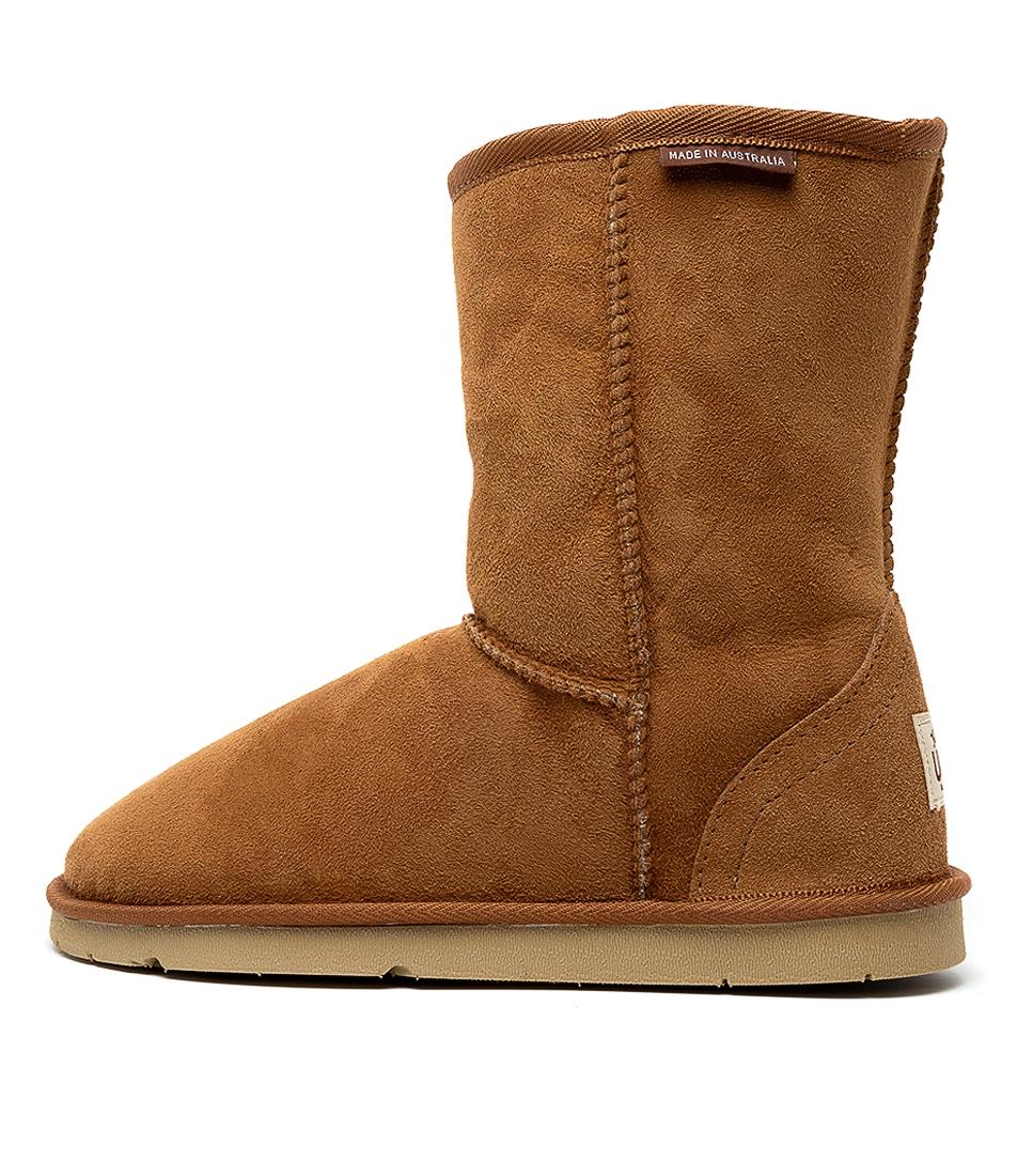 2b342220258 classic short unisex chestnut leather