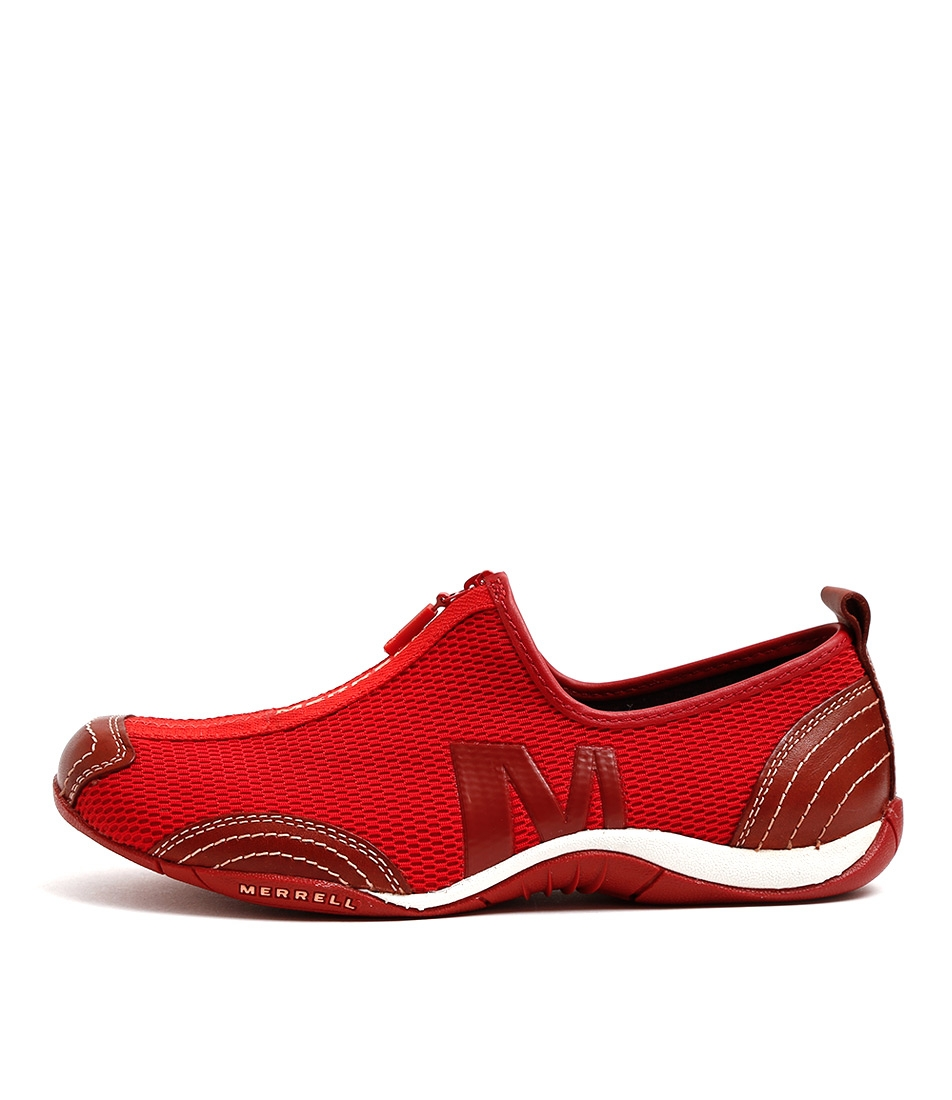 dcdad3d97ec77 BARRADO MESH DEEP RED LEATHER by MERRELL - at Mountfords