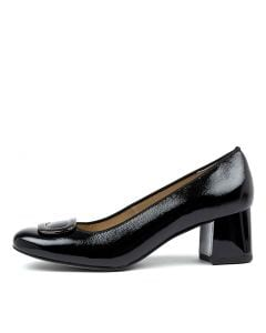 BRIGHTON 48 BLACK PATENT LEATHER