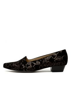 PARIS 71 STEEL PRINTED SUEDE