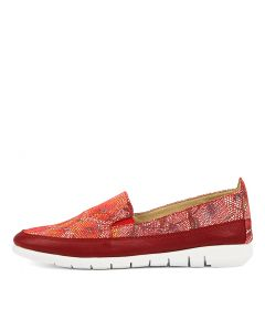 ALL AROUND RED MULTI LEATHER