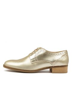 NETLEY ROSE CHAMPAGNE METALLIC LEATHER