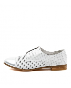 JACCA SILVER WHITE LEATHER