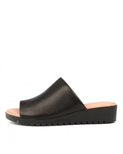 MERRIES BLK SOLE LEATHER