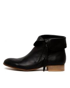 FIRMAN BLACK NATURAL HEEL LEATHER