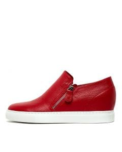 GUSTAVARY RED LEATHER