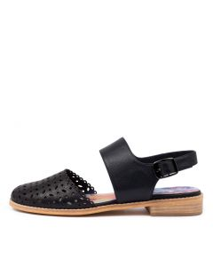 ALFRED DJ NAVY LEATHER