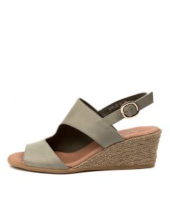 BAYLIE DJ KHAKI LEATHER