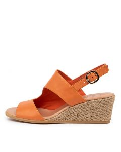 BAYLIE ORANGE LEATHER