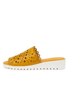 MACHELL DJ BUTTERCUP WHITE SOLE LEATHER