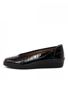 TRISTA SCHWARZ PATENT LEATHER