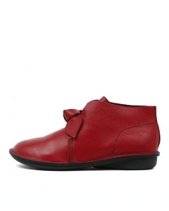 SINCERE DK RED LEATHER